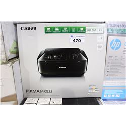CANON PIXMA MX922 ALL IN ONE PRINTER