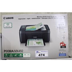 CANON PIXMA MX 492 ALL IN ONE PRINTER