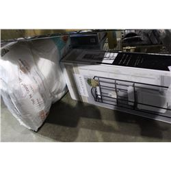 SHELF LOT - SNOOGLE PILLOW, SPACE SAVER RACK NEW IN THE BOX
