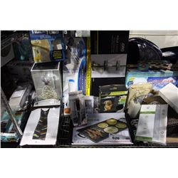 SHELF LOT - CLOUD PILLOW, SPIN SCRUBBER, ELECTRIC GRIDDLE AND MANY MORE HOUSEHOLD ITEMS