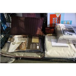 SHELF LOT - SIMPLE HUMAN TRASHCAN, WATER RESISTANT ATOMIC CLOCK, MISC HOUSEHOLD GOODS INCLUDING