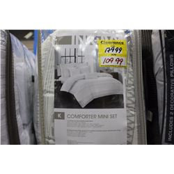 COMFORTER MINI SET - KING SIZE
