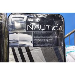 NAUTICA 7 PIECE FULL SIZED BED SET