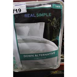 TWIN SIZE DOWN ALTERNATIVE DUVET