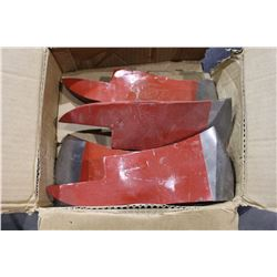 CARTON OF AXE HEADS