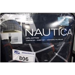 TWIN NAUTICA COMFORTER SET