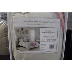 CUPCAKE AND CASHMERE FULL COMPLETE BED SET