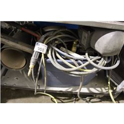 SHELF LOT - MISC AIR HOSES, ELECTRICAL SUPPLIES