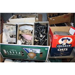 SHELF LOT - RADIO PARTS