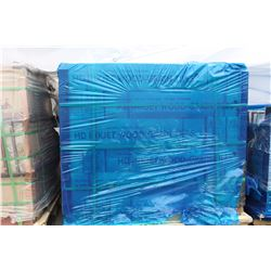 PALLET OF WOOD GRAIN CERAMIC TILE