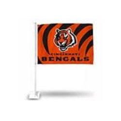 BENGALS CAR FLAG