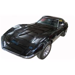 1969 Chevrolet Corvette 350 Turbo Stingray with T-Top; Standard Transmission; Black with Black Leat