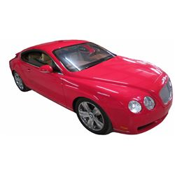 2005 Bentley Continental GT AWD Coupe;  6.0 Liter Twin Turbo V12 PFI; Auto Transmission; Gasoline;
