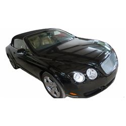 2007 Bentley Continental GTC Convertible; 6.0L V12 PFI; Auto Transmission; Gasoline; All Wheel Drive