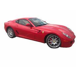 2007 Ferrari 599 GTB Fiorano Coupe; 6.0L V12 FI DOHC 48V; Auto Transmission; Gasoline; Rear Wheel D