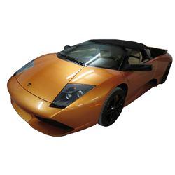 2008 Lamborghini Murcielago Convertible with Butterfly Doors; 6.5L V12 FI DOHC 48V; Standard Transmi