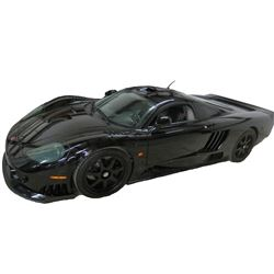 2006 Saleen S7 with Butterfly Doors; Twin Turbo; Standard Transmission; Black with Black Leather; Mi