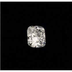 DIAMOND:  [1] Cushion Modified Brilliant cut diamond, 9.15 x 8.50 x 5.43mms = 3.25 carats, D color,