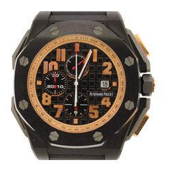 WATCH: [1] Black ceramic and 18KG gents Audemars Piguet Royal Oak Offshore Arnold Schwarzenegger The