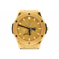 WATCH: [1] 18KYG gents Shawn Carter by Hublot Classic Fusion Limited Edition automatic watch with a