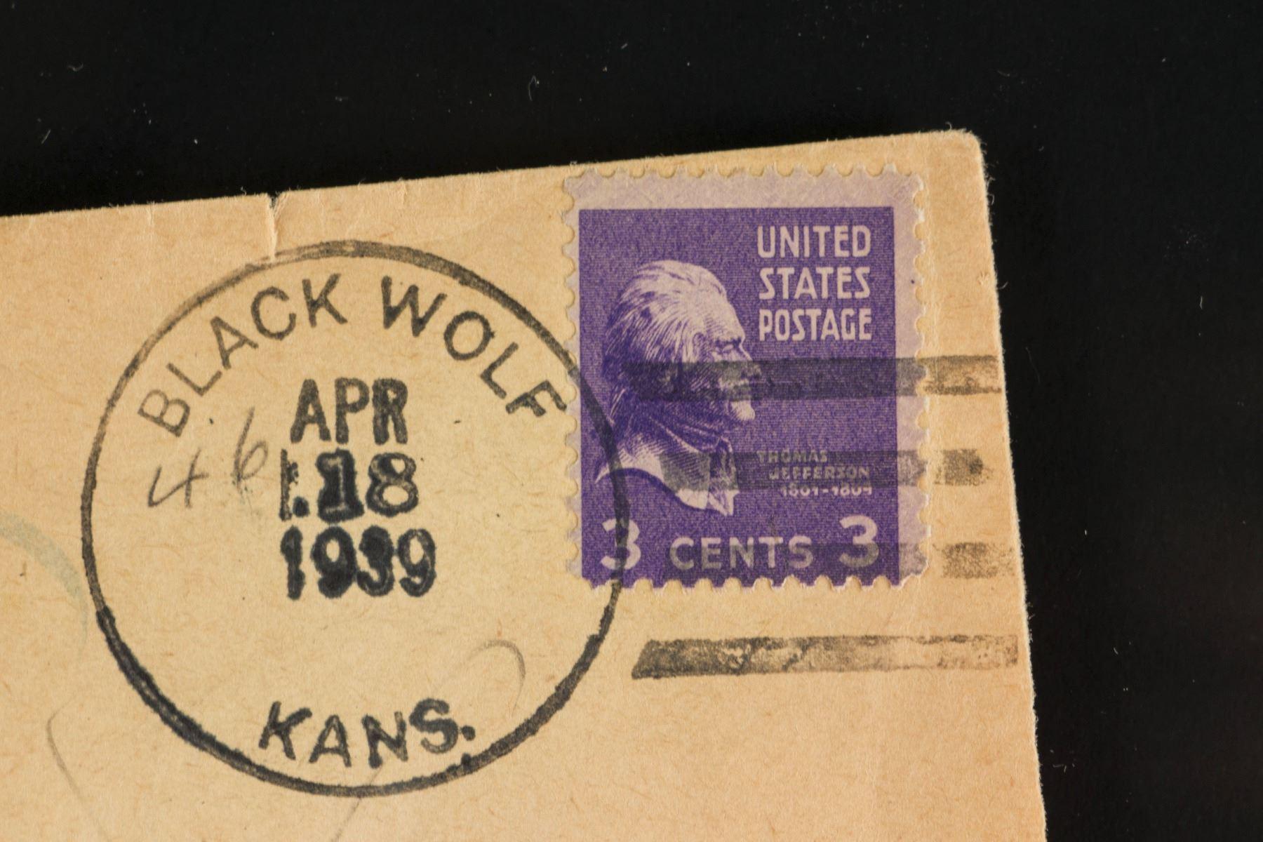 Image 2 1938 US Thomas Jefferson 3 Cent Stamp Scott 807