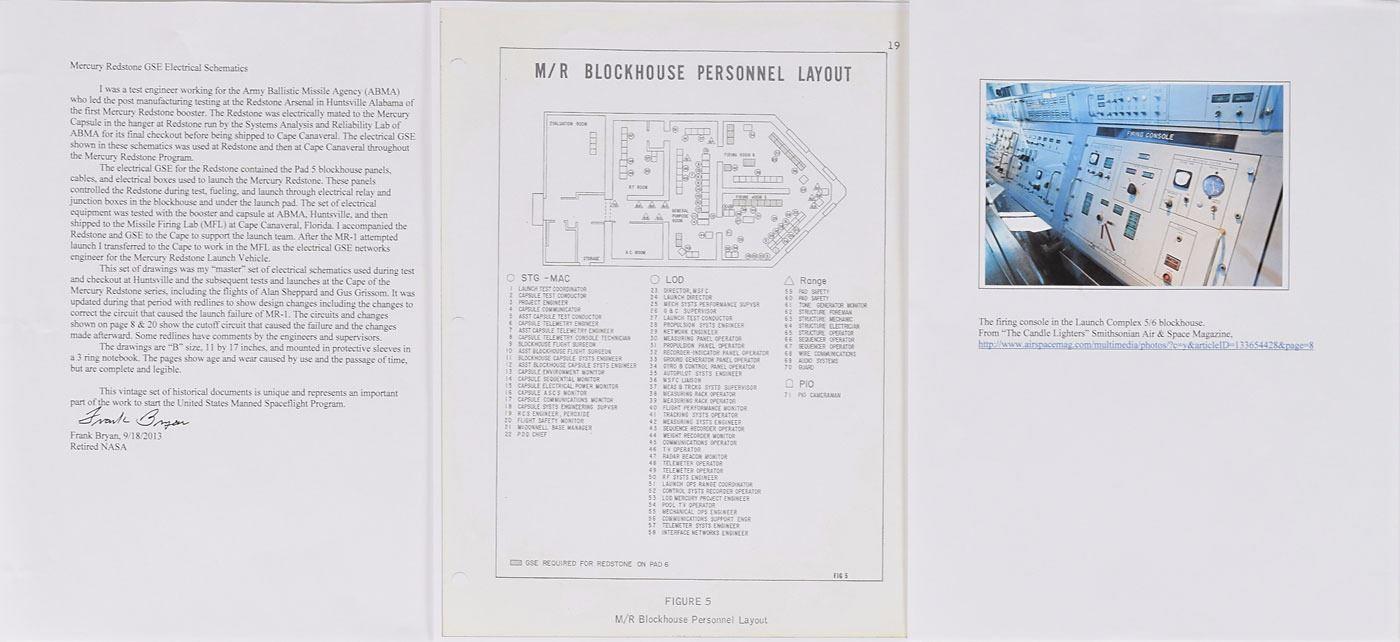 image 7 : mercury redstone 1960 gse electronics schematics