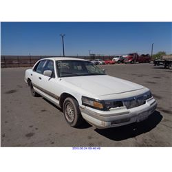 1992 - MERCURY GRAND MARQUIS