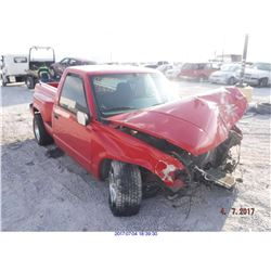 1995 - CHEVROLET CK 1500 // SALVAGE TITLE