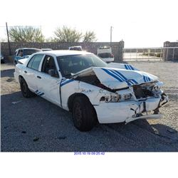 2011 - FORD CROWN VICTORIA // SALVAGE TITLE
