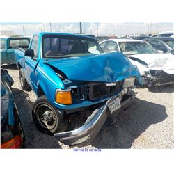 1996 - FORD RANGER // SALVAGE TITLE