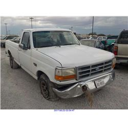 1995 - FORD F-150//BONDED TITLE