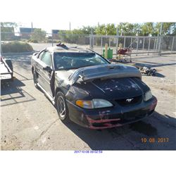 1998 - FORD MUSTANG // NON-REPAIRABLE
