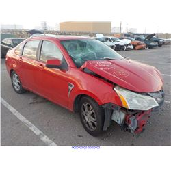 2008 - FORD FOCUS // SALVAGE TITLE