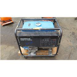 Tsurumi TPG 5000 H-DX Construction/Industrial Grade Portable Generator