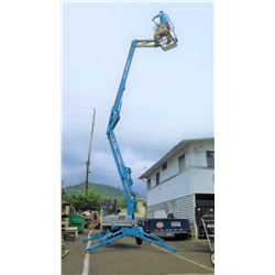 Genie TMZ-34/19 Towable Aerial Lift, 34ft Working Height