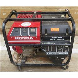 Honda Gen-Pro 7500 Watt Generator