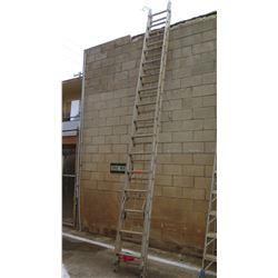 Large Metal Extension Ladder