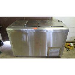 Nelson Manufacturing BD-8-RB Refrigerator/Freezer -Works!