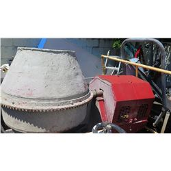 Towable Concrete Mixer, (being sold for parts/repair)