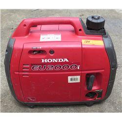 Honda EU2000I 2000-Watt Portable Generator w/Inverter, Super Quiet