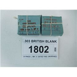 .303 BRITISH BLANK