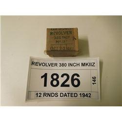 REVOLVER 380 INCH MKIIZ