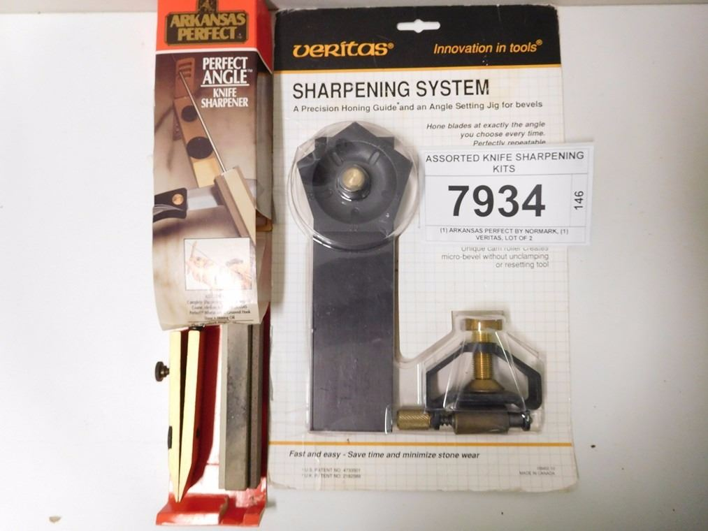 ASSORTED KNIFE SHARPENING KITS