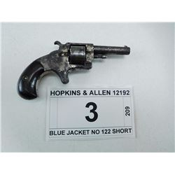 HOPKINS & ALLEN , MODEL: BLUE JACKET NO 1 , CALIBER: 22 SHORT
