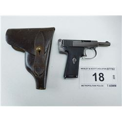 WEBLEY & SCOTT , MODEL: METROPOLITAN POLICE  , CALIBER: 7.65MM