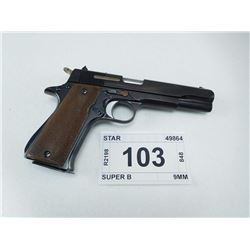 STAR , MODEL: SUPER B , CALIBER: 9MM