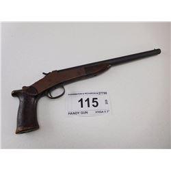 "HARRINGTON & RICHARDSON , MODEL: HANDY GUN , CALIBER: 410GA X 3"""