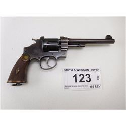 SMITH & WESSON , MODEL: 455 MARK II HAND EJECTOR 2ND MODEL , CALIBER: 455 REV