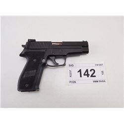 SIG , MODEL: P226 , CALIBER: 9MM PARA