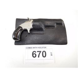 SMITH & WESSON , MODEL: TIP UP 32 NO 1 1/2 ISSUE 2ND MODEL , CALIBER: 32 LONG RIM FIRE